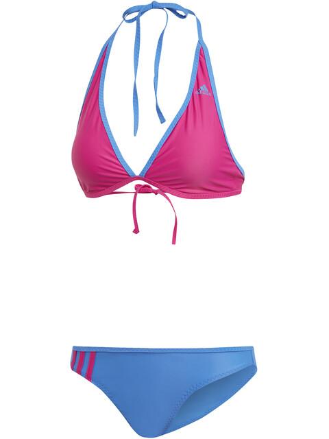 adidas BW 3-Stripes NH - Bañadores Mujer - rosa/azul